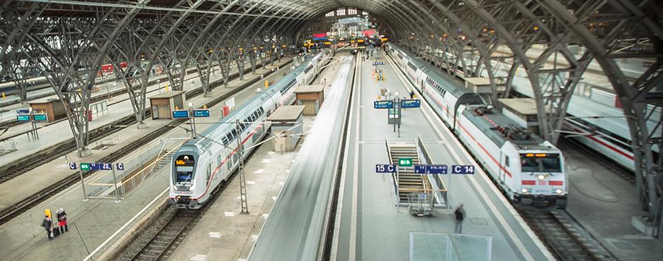 MDR Der Osten, entdecke wo du lebst: Hauptbahnhof Leipzig